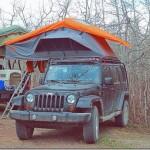 狭い車でも車中泊できちゃう、ユニークなテントが登場。