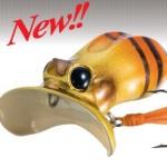 【新製品】ラッキークラフトから新ノイジー「ケロールバグ」誕生!