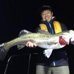 初の東京湾ナイトシーバスがクソ楽しかった件。70cmオーバーも釣れたゾ!また行きて~!!