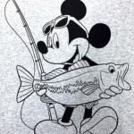 ディズニー×バス釣りのコラボアパレルが登場! これはテレ朝さん、さすが。