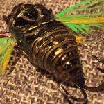 """「オータニ昆虫館」というブランドのセミルアーに一目惚れ。足の """"カサカサ感"""" がキモイ"""