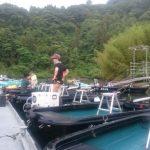 亀山湖の新たなルール「桟橋、係留ボートへの釣り禁止」、亀山湖釣舟協会より