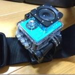 ウェアラブルカメラ使うなら「回転式クリップマウント」が超絶ベンリ。 釣り中でも安心なガッチリ感!