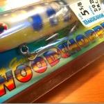 ルーハージェンセン「ウッドチョッパー」。2オンスのスイッシャーだけど、これもいいらしい。