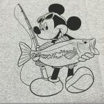 「ディズニー×バス釣り」のTシャツをGET! まじでいいセンスしか感じない。