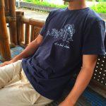 one8tyの「サカナT」。ユルい世界観をイメージしたシャツを実際に着てみた
