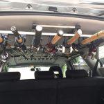 【譲ります】車用ロッドホルダーIF5(7本積載可)を無料でどなたかに差し上げます